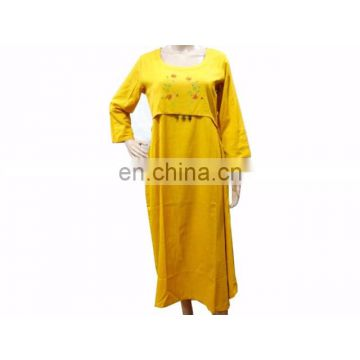 Women's Cotton Tunic custom Top Long Kurta Indian Ethnic WEAR