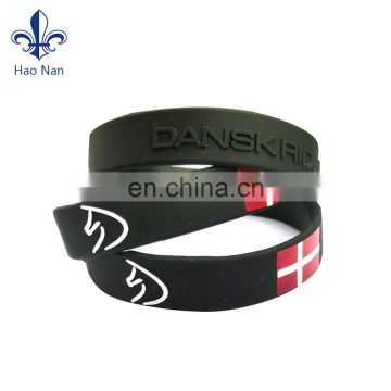 High quality factory price bracelet silicone wristband