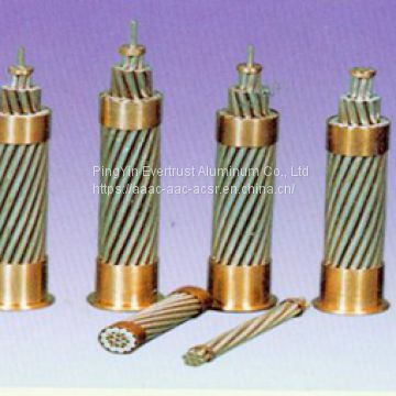 Bare Aluminium Conductor Steel Reinforced for Transmission Line Use