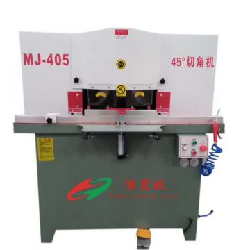 Aluminium Section Manufacturing Machinery 1340×200mm Double Head Aluminium Cutting Machine