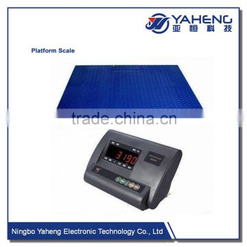 1T3T5T HYPSweighing indicator with beam balance weighing scale floor scale with bottom frame