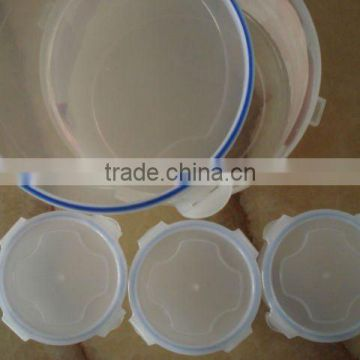 set of 4 round air-tight container