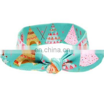 Toddler White & Mint Headwrap Bunny Baby Headband For Kids Accessories