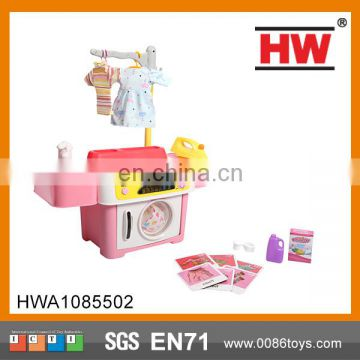 Battery Operated Washing Machine Toy With The Light And Music