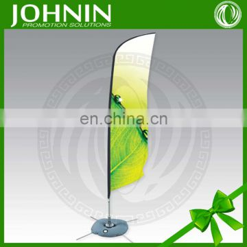 wholesale outdoor flying promotion feather teardrop advertising flag