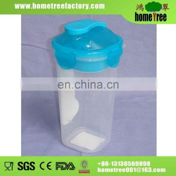 500ml clear plastic shaker cup
