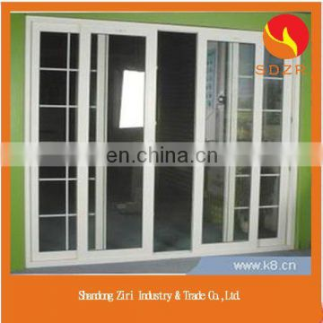2015 new product aluminum double glazed windows with built in blinds made in china