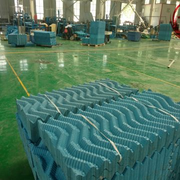 Cooling Tower Fill Material 1500mm*600mm Cooling Tower Fill High Temperature Resist