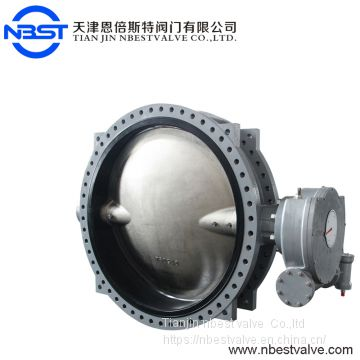 Manual operate EPDM/VITON seal large size DN1500  butterfly valve