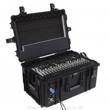 Charging Cart for 20 Tablets/ iPad Charging Trolley/ 20 Ports Tablet Charging Cabinet for School