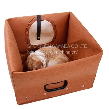 3 in1 pet house  pet bed pet carrier felt bed cat dog