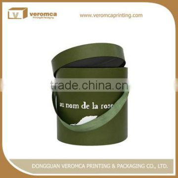 OEM manufacture round shapes paper hat box