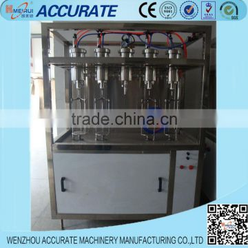 CO2-contained beverage filling machinery 4 heads