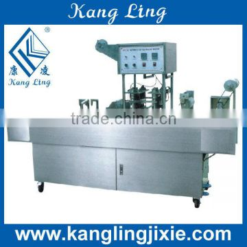 GD-16 series 2 lines Bottle Filling Sealing Machine