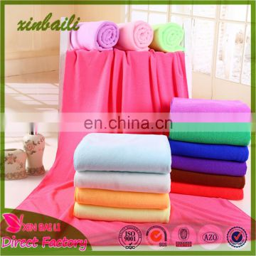 Hot Sale Easy Cleaning Plain Dyed Microfiber Towel