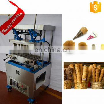 Automatic commercial machine for making ice cream cone