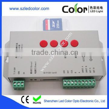 t1000s t1000c program sd card led controller