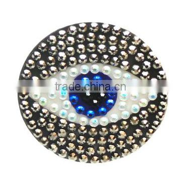 Acrylic/Rhinestone Glitter Printing Sticker Bling Self Adhesive Evil Eye Diamante Strass Sticker Design