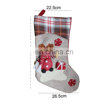 Hot sale stocking Colorful cute Christmas socks with little button necessary festival gift fashion Christmas socks for HM055