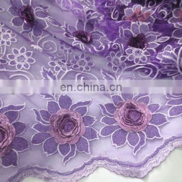 2016Fashionable high quality hot selling french lace bridal fabric for christmas