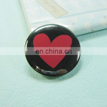 hot promotional with custom logo tin button badge