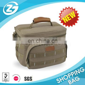 China design popular Large Organizing folding cooler bag with stand