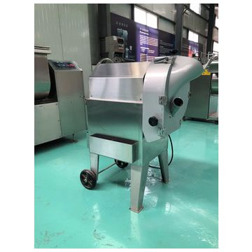 Vegetable slicing machine for potato chips / onion
