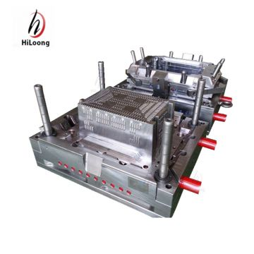 quality crate mould taizhou supplier plastic injection mould