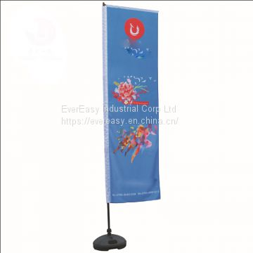 Custom Print  Ad Use Beach Stand Flag poster 3m/5m