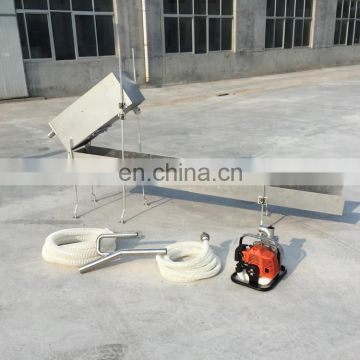 Alluvial Gold Mining Equipment Highbanker Sluice Box For Sale/High capacity highbanker portable gold sluice with gold trommel wa