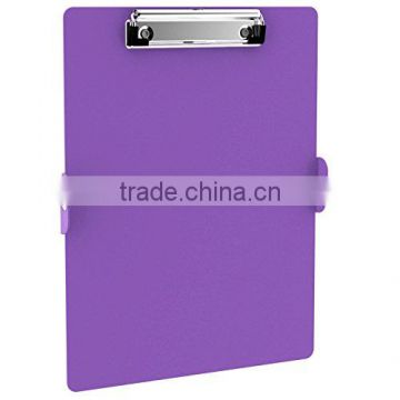 folding clipboard in purple color