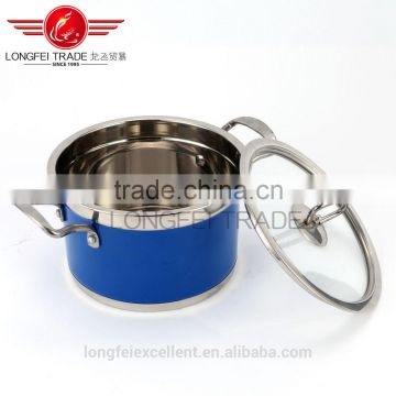 best quality stainless steel large camping cookware