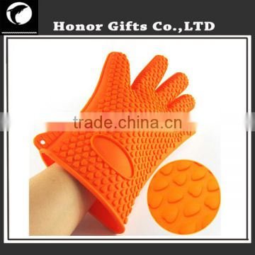 Alibaba China Kitchen Cooking Oven Glove Non Stick Silicone BBQ Gloves