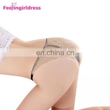 Factory Price Red Lace Sexy Tight Women Underwear Model
