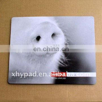 custom printed promotional mouse pad white