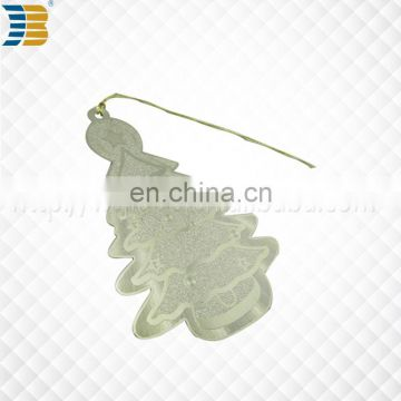 WenZhou JIABO New custom Christmas tree metal bookmark for crafts
