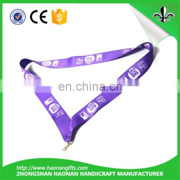 Good price new design sport black nickel plating medal ribbon