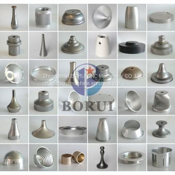 Aluminum lamp shade pot cnc auto metal spinning parts machine Machinery