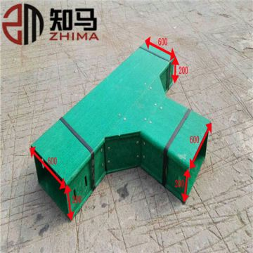Fiberglass GRP FRP Cable Ladder Trays Elbow Factory Price