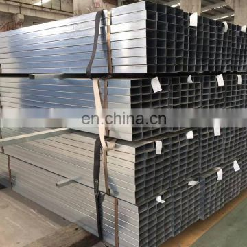 Q235 Hollow Section Black Square and Rectangular Steel Tube Price List