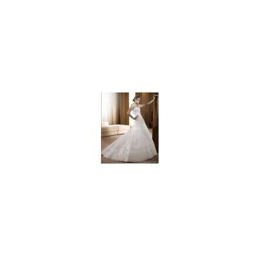 Wedding dress, bridal gown (fresnoa)