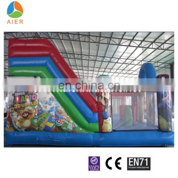 2016 Giant Mario Bouncy Park Inflatable Fun City for Big Inflatable kids playground