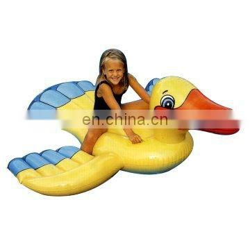 Inflatable Duck Rider