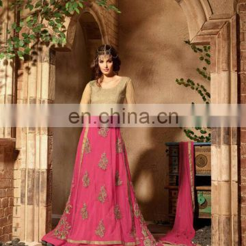 Party wear zari work suit traditional dress for women