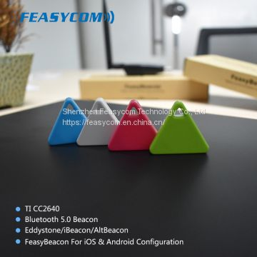 mini bluetooth 5.0 ble Android battery beacon with iBeacon,eddystone and Altbeacon