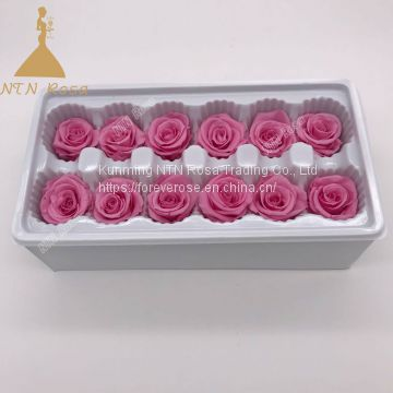 Wholesales artificial everlasting preserved roses for Valentine's gift