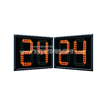 Basketball 24 Sec Shot Clock with wireless control