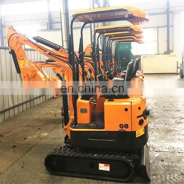 0.8Ton Mini Crawler Excavator  With CE Certificate China Factory Price