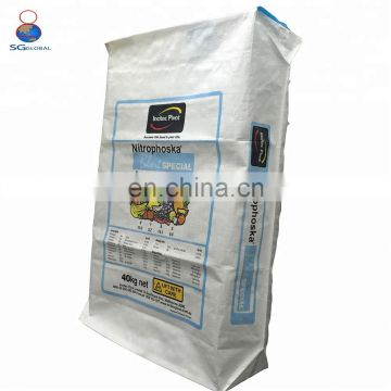 Durable custom made 50 kg plastic cement bags
