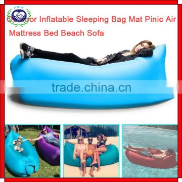 Sleeping Bags Camp Sleeping Gear Obliging Portable Inflatable Air Chair Bed Outdoor Camping Beach Lazy Sofa Waterproof Fast Fabric Inflatable Camping Sleeping Bag Orders Are Welcome.